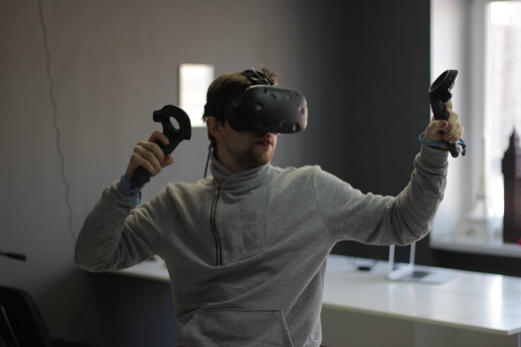 очки виртуальной реальности, HTC Vive, VR очки, VR прокат