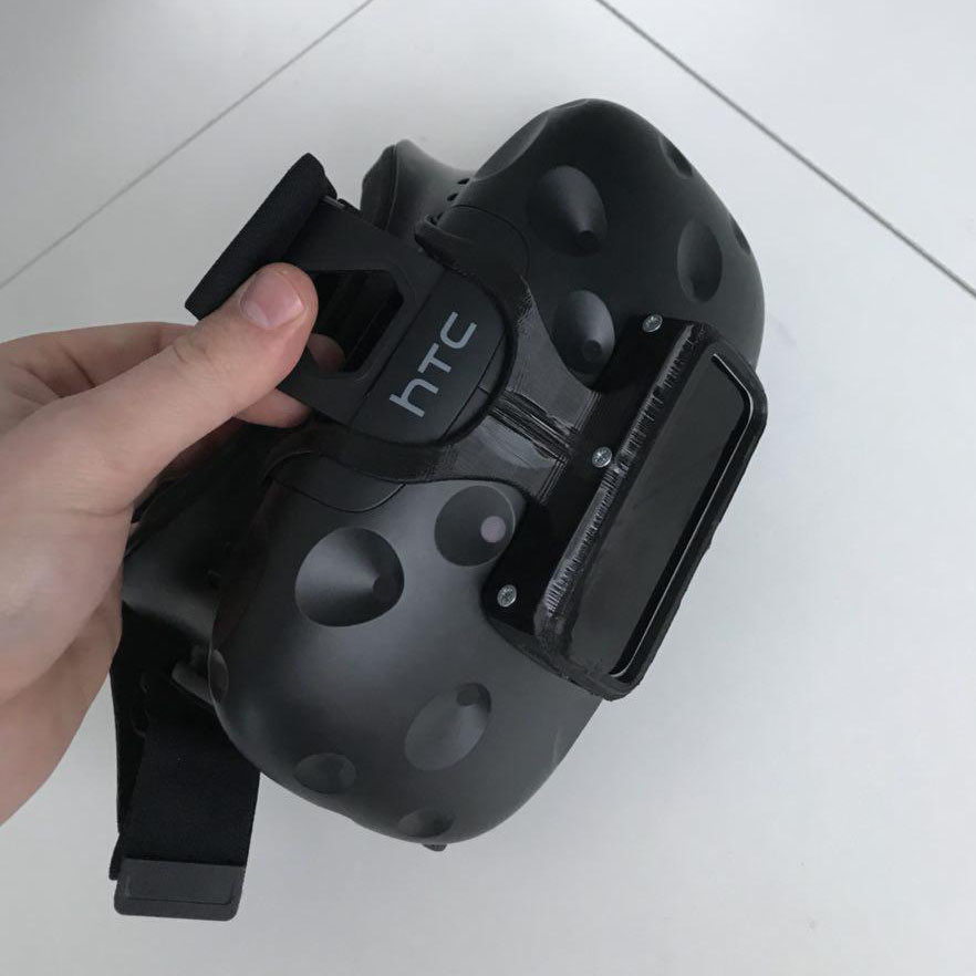 Leap Motion, схема крепления, изготовление конструции под очки виртуальной реальности