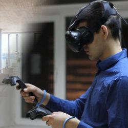 играет в вр, визуализация в вр, VR архитектура