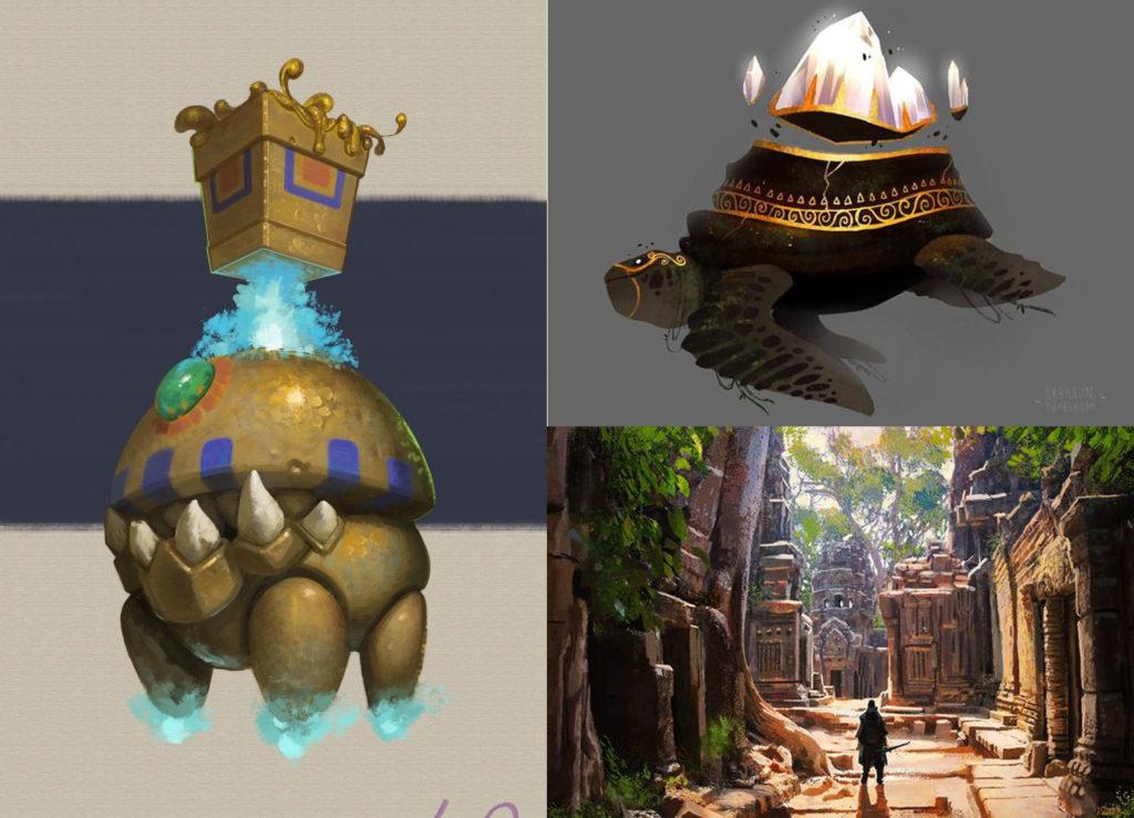 концепты для игрового проекта